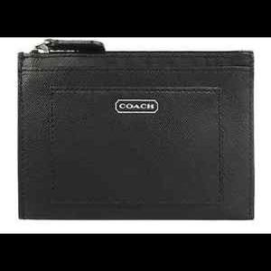 Coach Saffiano Leather Wallet F50425